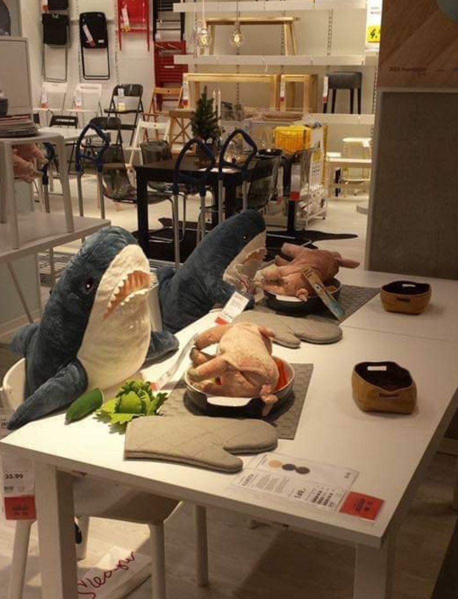 von und zu Schmagülzchen on | Ikea shark | Witzige bilder ...