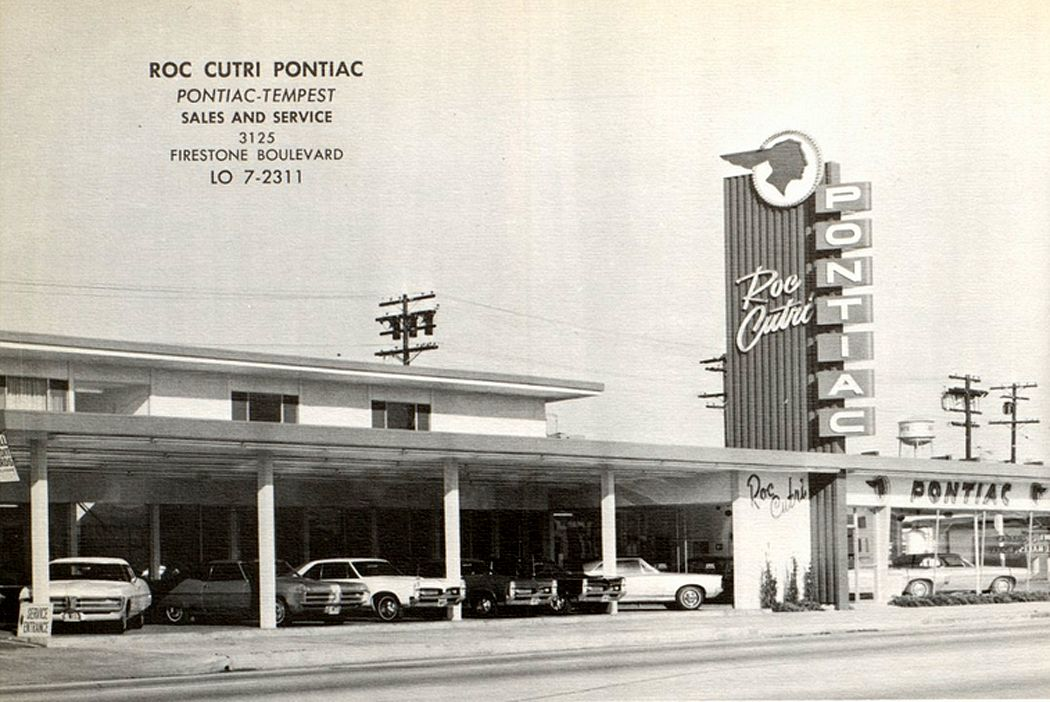 Roc Cutri Pontiac Dealership, South Gate, California