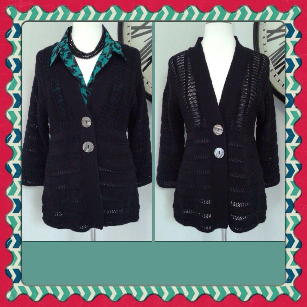 Dressy Black Cardigan | Products