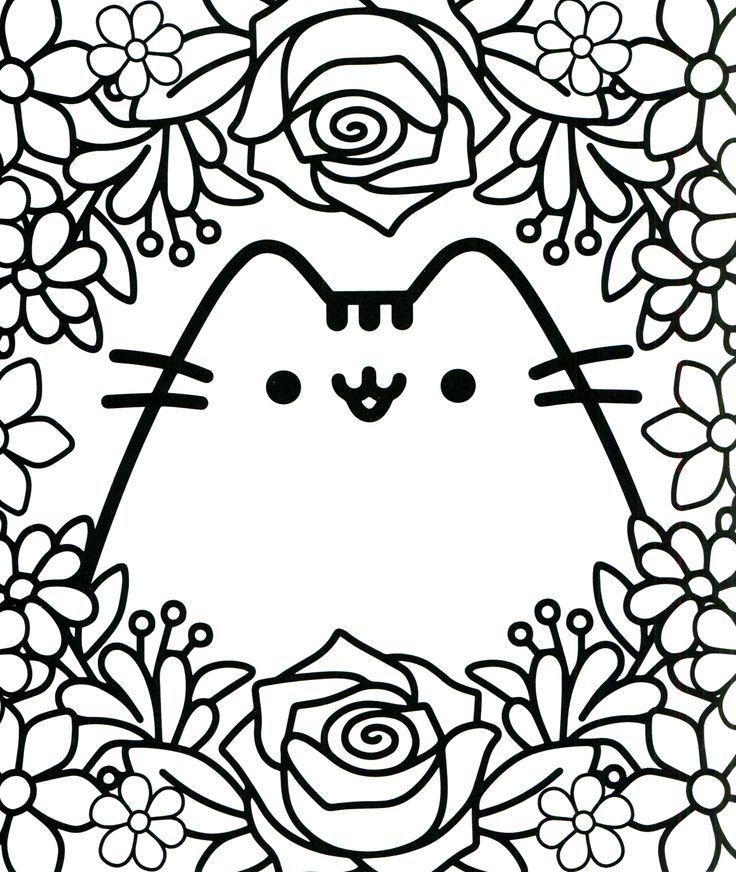 Pusheen Coloring Pages | Pusheen coloring pages, Cute ...