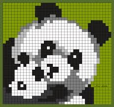 Résultat De Recherche Dimages Pour Pixel Art Panda Design Art