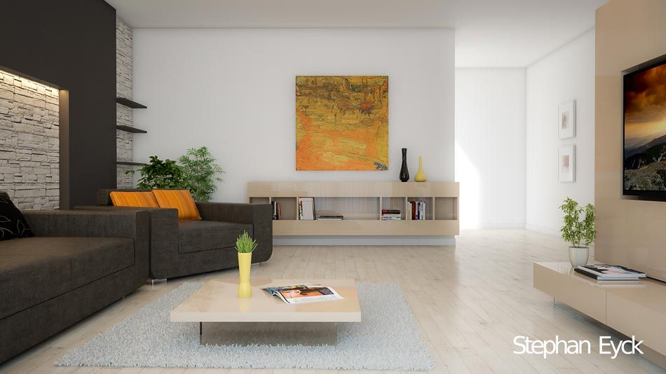 Design interior living room - Casa Bucuresti