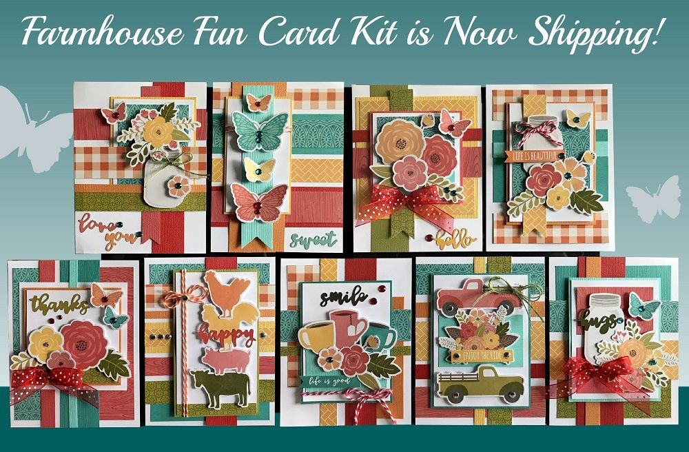 Kim S Card Kits Unique Handmade Card Kits Card Making Kits Cards Handmade Unique Handmade Cards Handmade Card Making