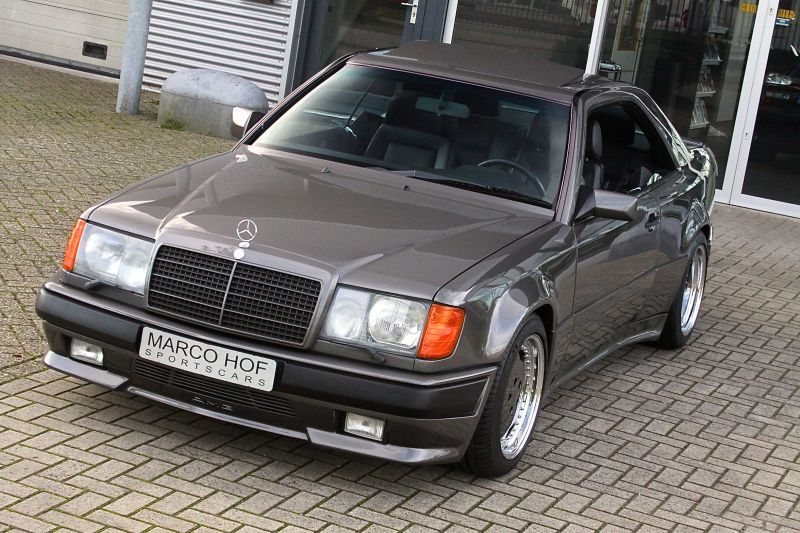 This 1988 Mercedes Benz 300ce Was Converted To Amg Hammer