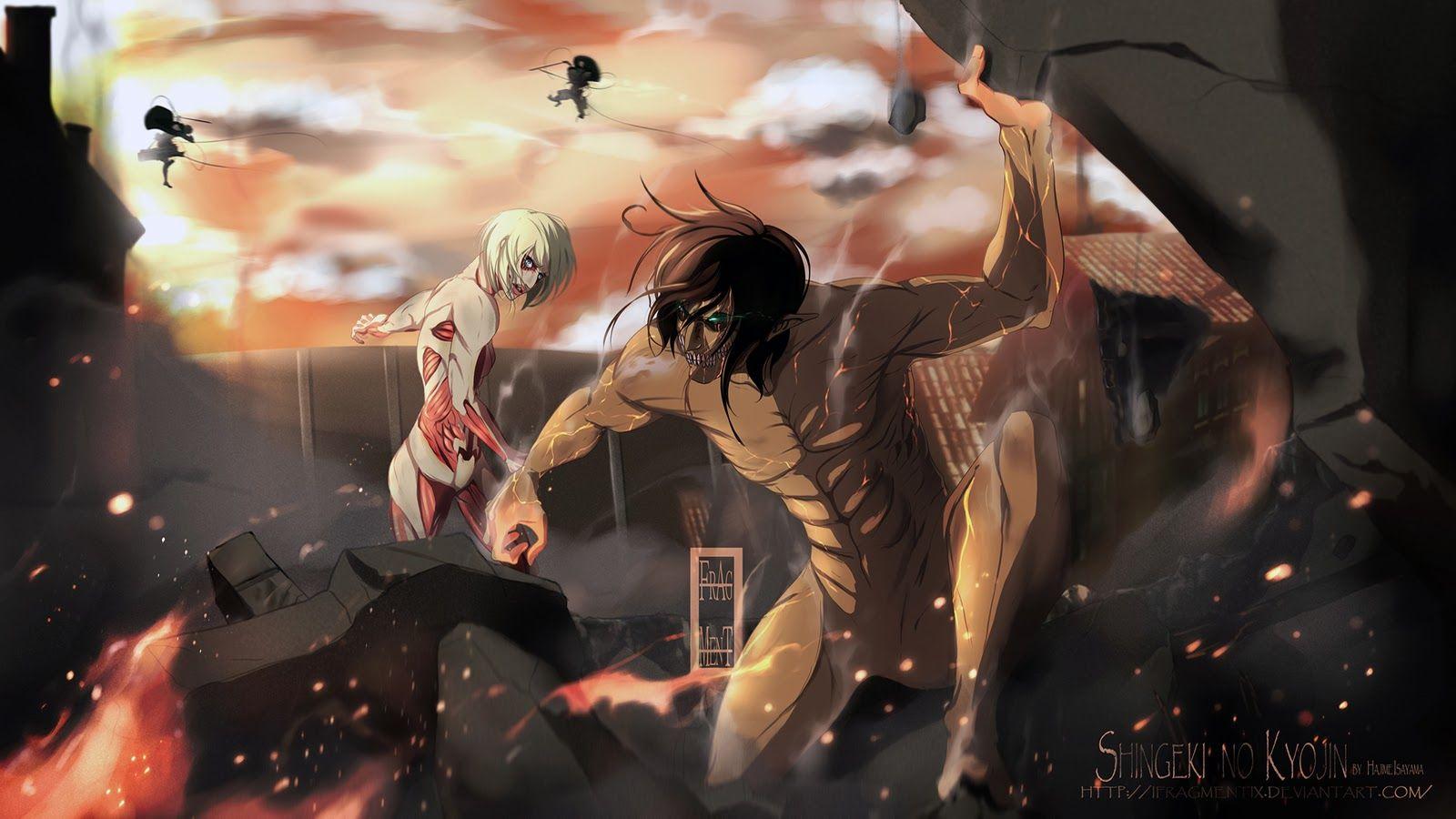 Shingeki No Kyojin Wallpaper Buscar Con Google Attack On Titan