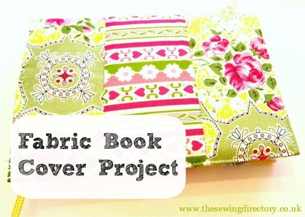 Acolchoado Projeto de costura capa de Livro