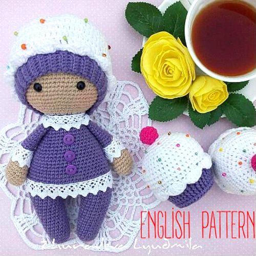 04f9b8539 Amigurumi Cupcake Baby - Free Pattern (Beautiful Skills - Crochet ...