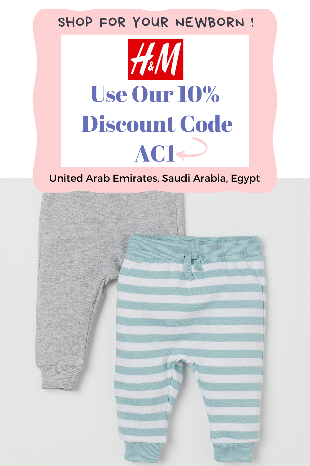 Buy 2 Pack Joggers 100 Cotton Sizes From 0 2y Baby Clothes Online Baby Clothes Clothes