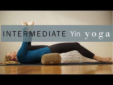 intermediate yin yoga for hips  yin yoga sequence yin