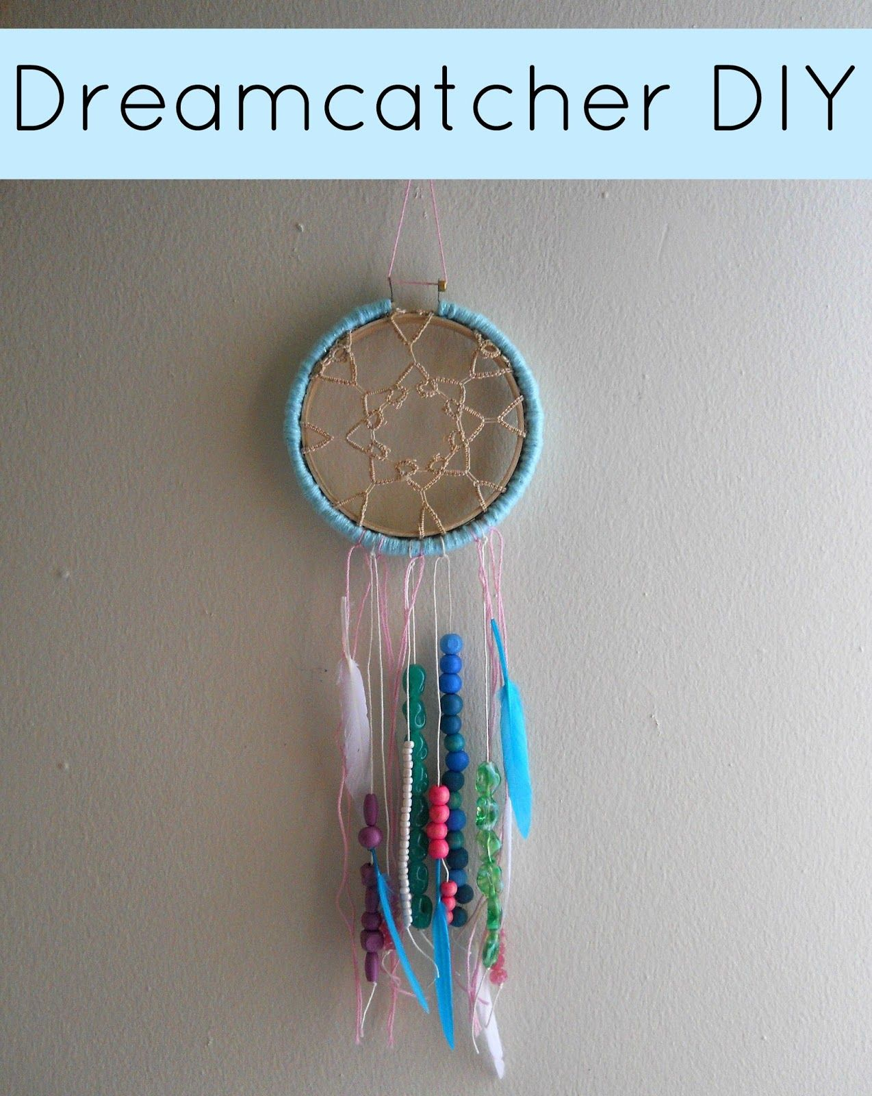 Instructions on how to make a dream catcher picture - How To Make A Dreamcatcher Step By Step Easy Dreamcatcher Jpg How To Make A Dreamcatcher Step By Step Easy