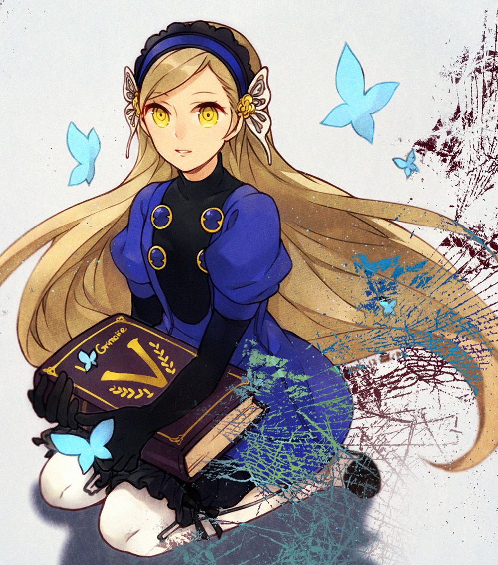 Persona 5 Lavenza Video Game Artwork Persona, Persona