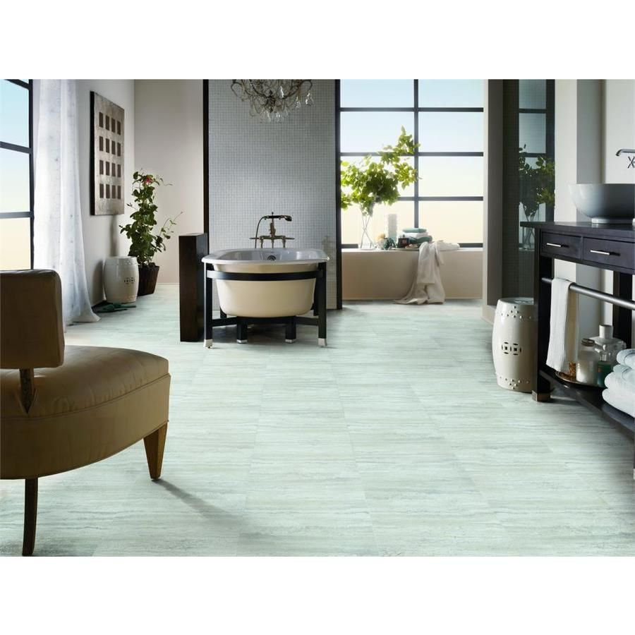 Armstrong Flooring Terraza Grand 18in x 18in Artic White