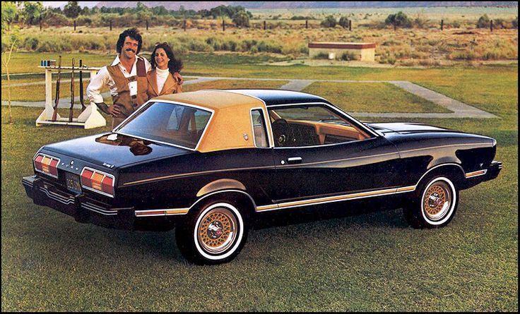 1975 Mustang Ii Ghia Sunroof V8 Mustang Ii Ford Mustang
