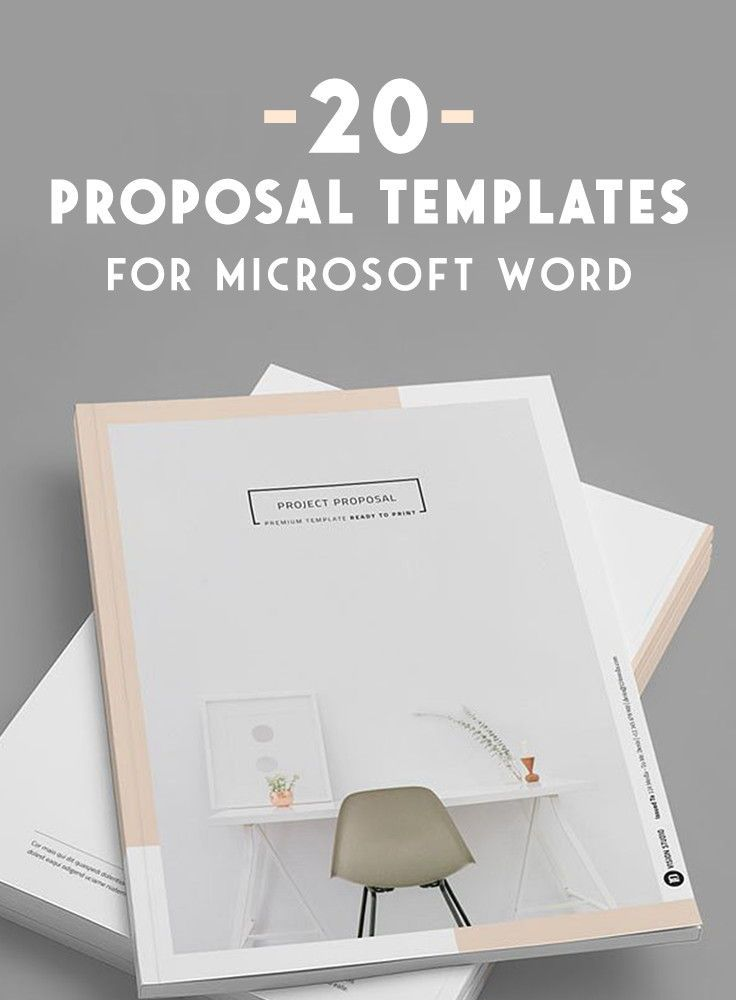 Microsoft Proposal Templates 20 Creative Business Proposal Templates You Won't Believe Are .