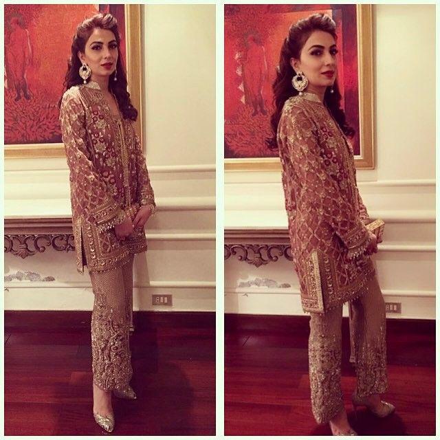 Sana Bashir Rocking It Tonight In Farazmanan Farazmanan Beautiful Hautecouture Lahore Weddings Farazmanandubai Desi Fashion Fashion Pakistani Dresses