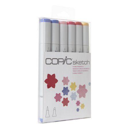 Copic® Sketch Marker Set, Floral Favorites 2 - Walmart.com