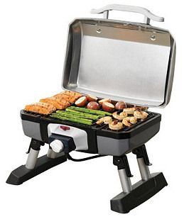 Portable Electric Grill Get Cooking With This Portable Electric