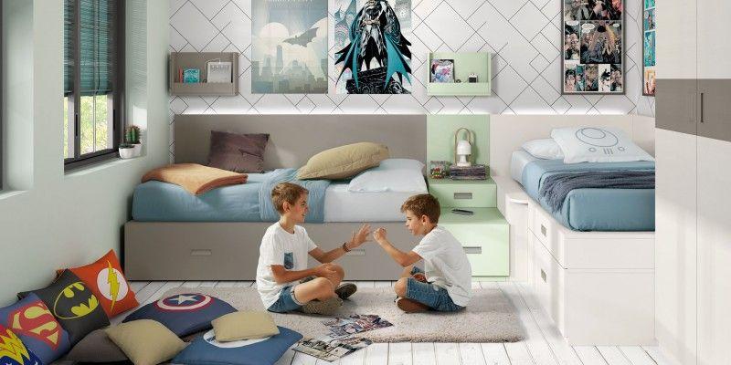 Habitación para dos y poco espacio? Tu opción DIY. Crea tu ...