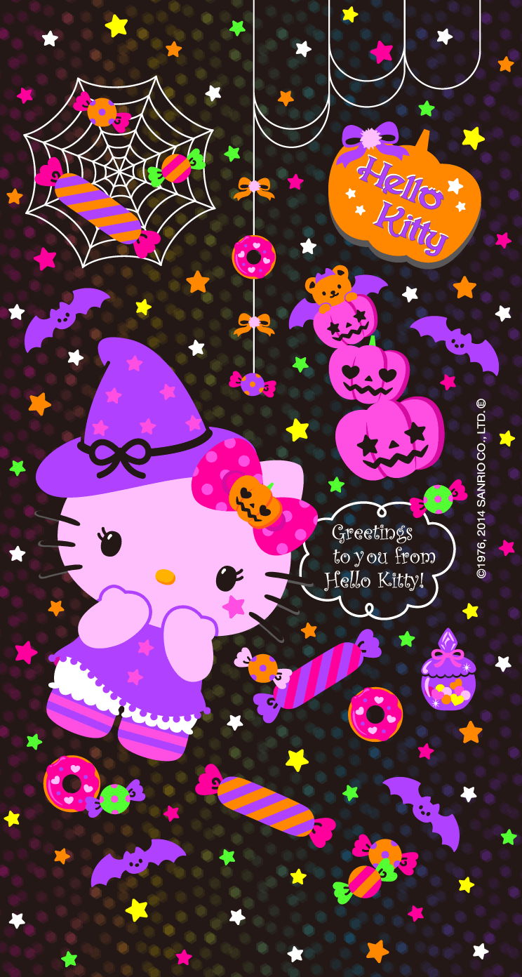 Pin By ʅeﻨ ʅeﻨ On Wallpapers Y Cosas Q Me Encantan Hello Kitty Halloween Wallpaper Hello Kitty Halloween Hello Kitty Pictures