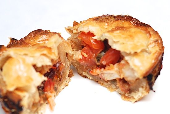 Jerk Shrimp Mini Pies #jerkshrimp