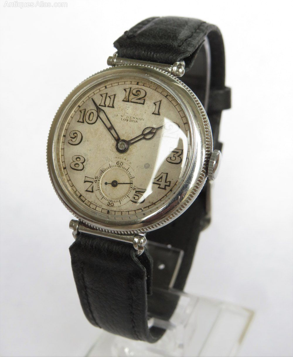 Gents 1936 Longines wristwatch for J W Benson #vintagewatches
