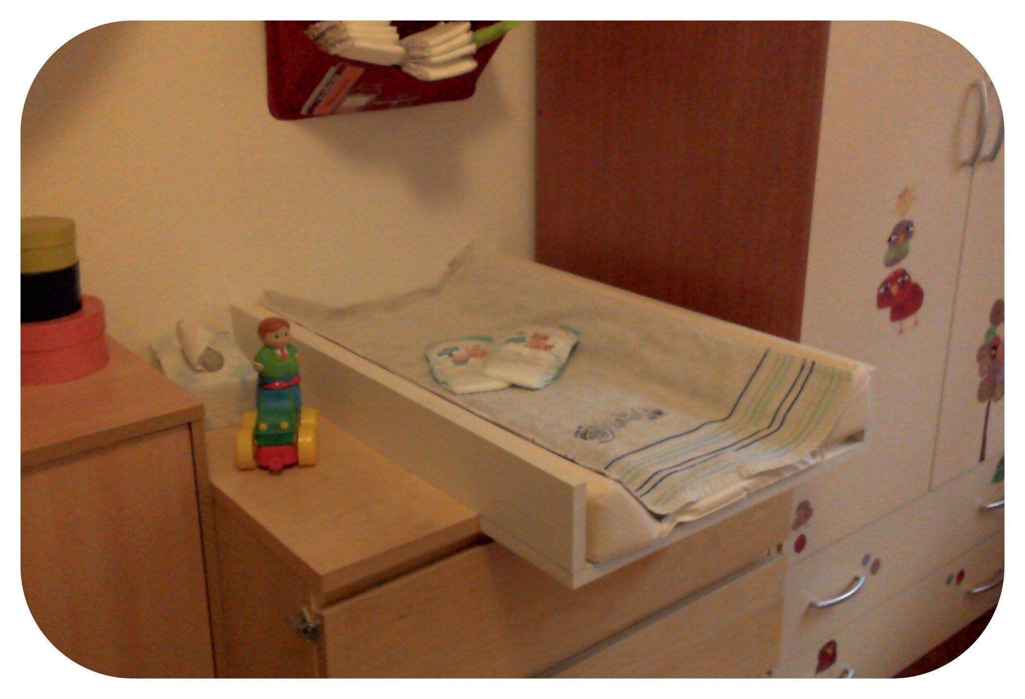 La Table à Langer De Biscotto Diy Fabriquer Table à