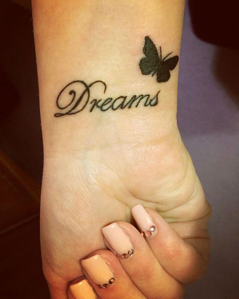 23 Magical Butterfly Tattoos Name Tattoos On Wrist Henna Tattoo Designs Simple Butterfly Wrist Tattoo