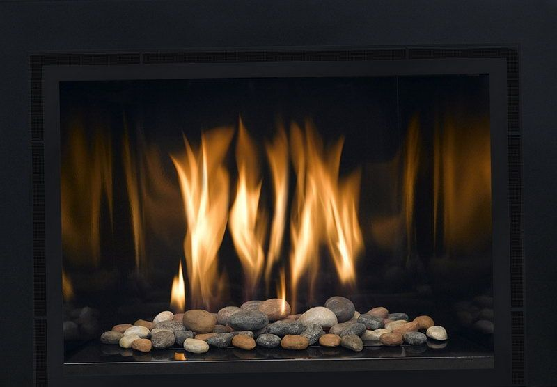 Indoor Gas Fireplace Rocks Home Design Ideas Gas Fireplace Gas Fireplace Insert Fireplace Glass Rocks