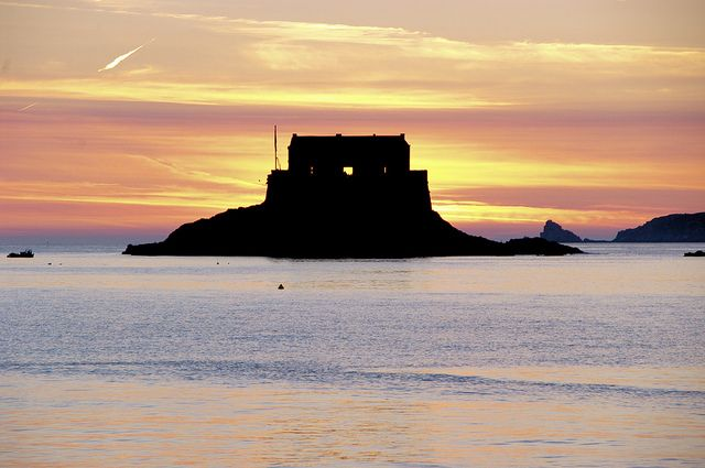 Saint Malo - le fort du Petit bé
