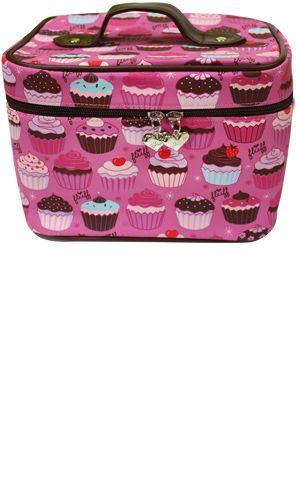 Cupcake train case. Need I say more?!