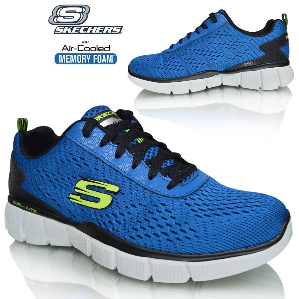 skechers memory foam mens sneakers
