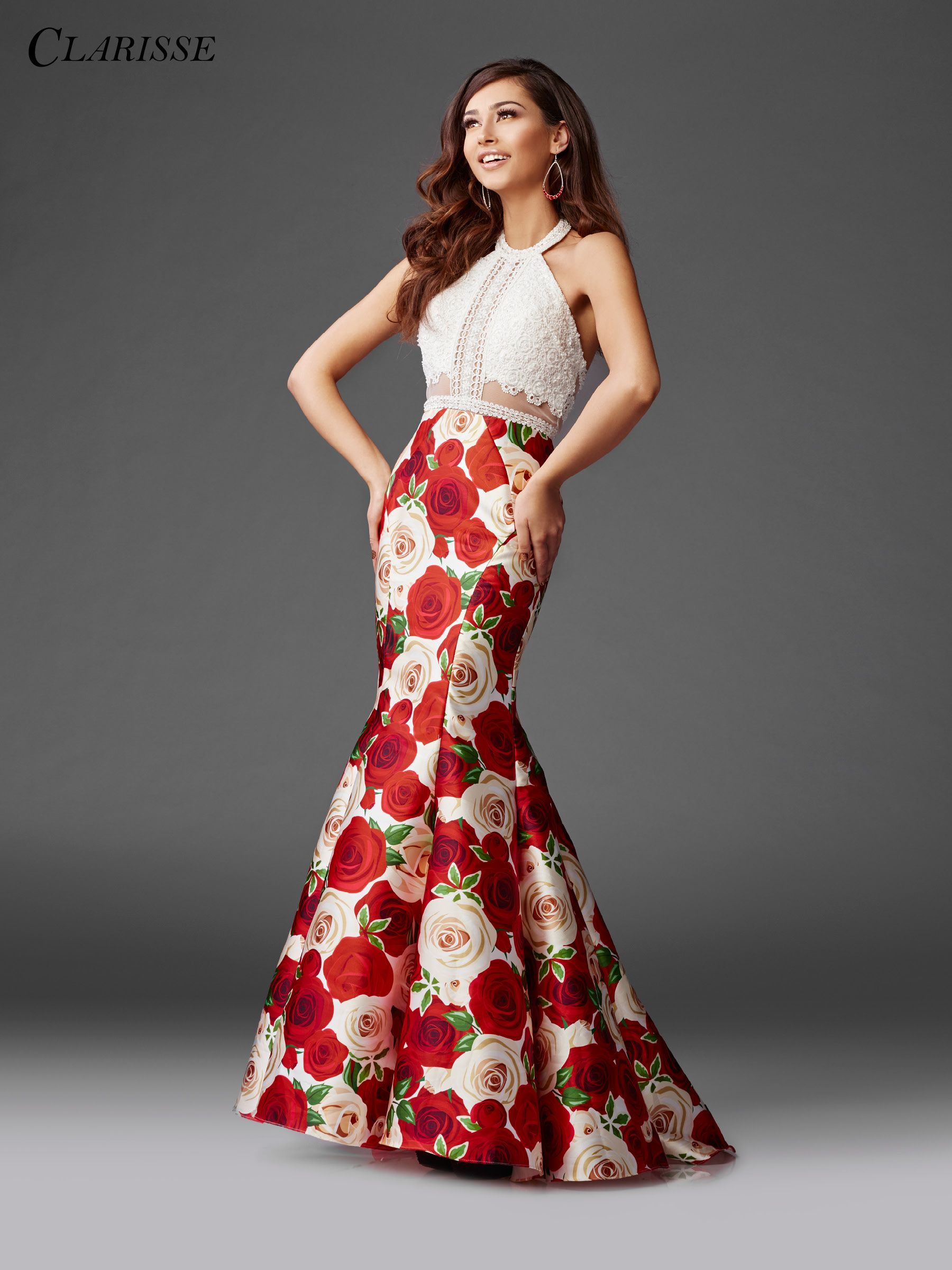 Clarisse prom dress make a statement with this crochet