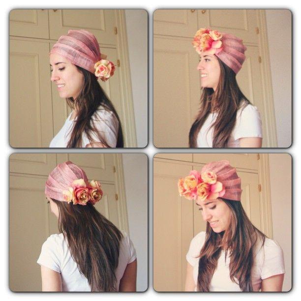 Turbante Flores TOCADOS Pinterest Moda