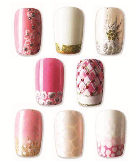 Bridal Nail Art - Nail Art Gallery Magazine http://nailartgallerymag.epubxp.com/t/32992