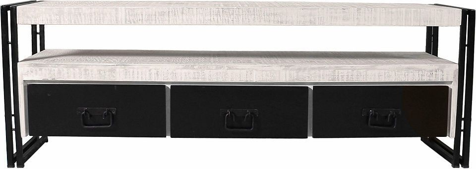SIT TV-Lowboard »White Panama« im Used Look, Breite 160 cm Jetzt