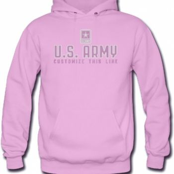 Fully embroidered sweatshirt. 50% cotton/50% polyester, pill-resistant air jet-spun yarn, double-lined hood with matching drawstring, double needle stitching throughout, set-in sleeves. 1×1 rib knit cuff and waistband with Lycra. $60.00