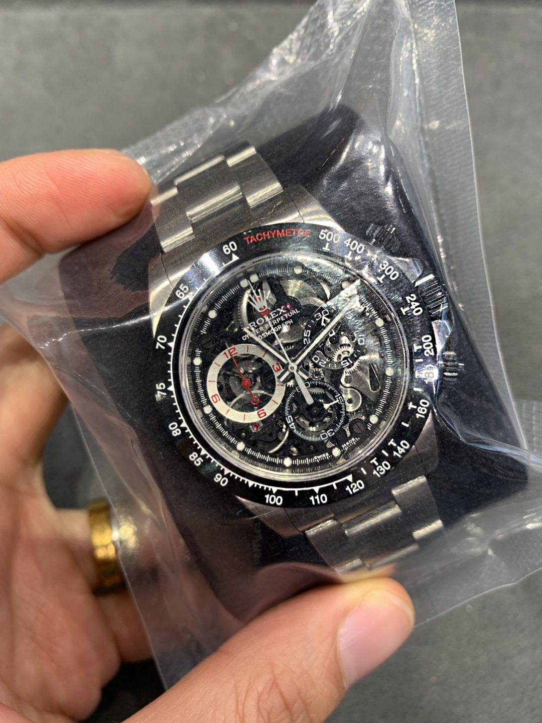 Rolex Artisans De Geneve La Barrichello Daytona Skeleton 40mm Watch Luxury Watches For Men Luxury Timepieces Watches For Men