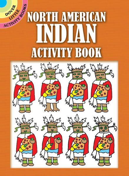 North American Indian Activity Book History Native