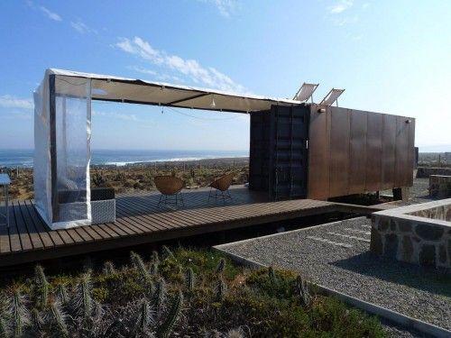 Resultado de imagen para cubierta arquitectonica hecha en base de contenedores maritimos