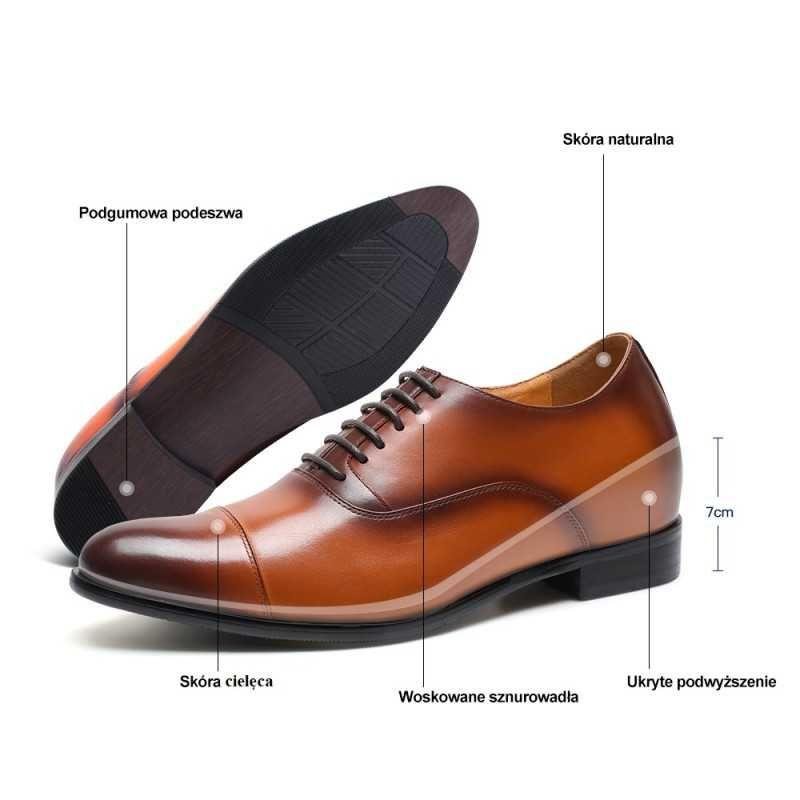 Buty Podwyzszajace Vittorio 7 Cm Dress Shoes Men Oxford Shoes Men Dress