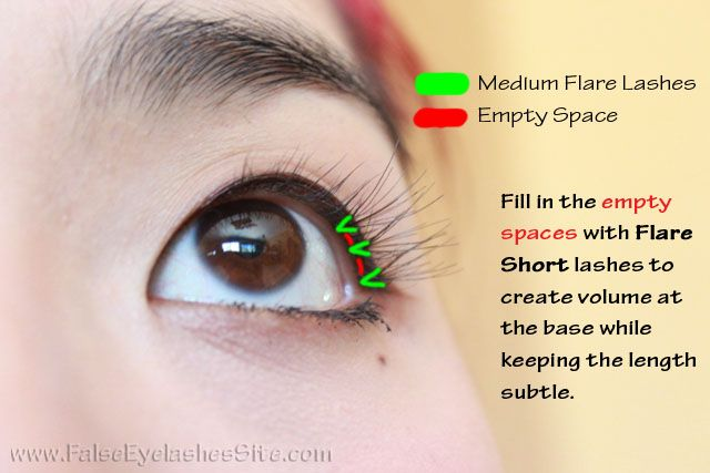 ab583e03fe fill in the empty spaces how to apply your own eyelash extensions at home