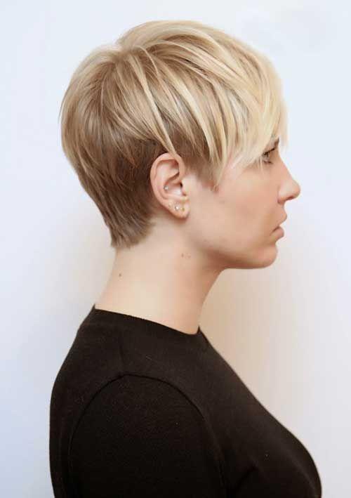 Very Short Blonde Pixie Cuts | Hair | Hair cuts, Short ...