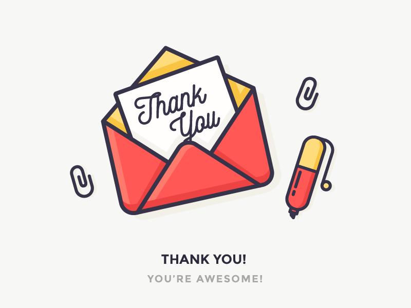 Thank You Icon Design Tutorial Flat Design Icons Icon Design