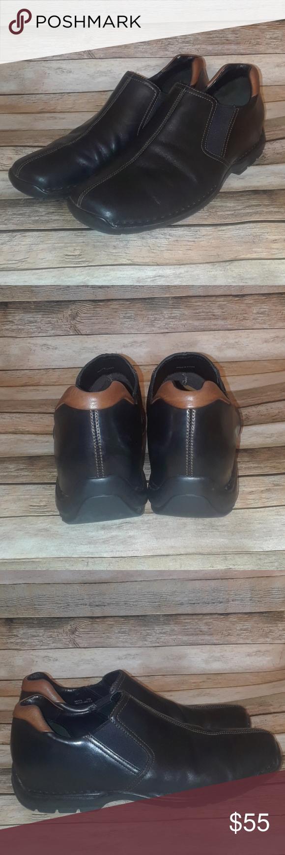 ee8daa6e5df Cole Haan Zeno Black Slip On Leather Loafer 12 Cole Haan Zeno Slip On  Leather Loafer in Size 12. Slightly polished black leather upper