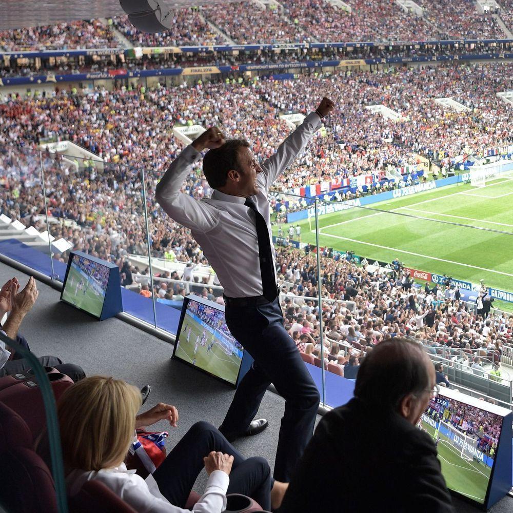 FranceCroatie Brigitte et Emmanuel Macron, complètement