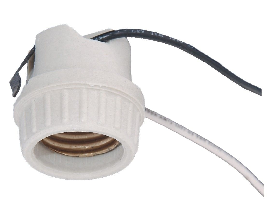 Leviton Brand Medium Base Porcelain Snap In Lamp Holder Socket With 9 Wire Leads In 2020 Lamp Holder Leviton Lamp