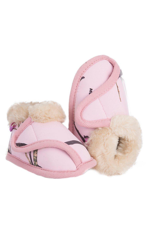 Blazin Roxx 174 Kid S Pink Camouflage Fleece Lined Velcro