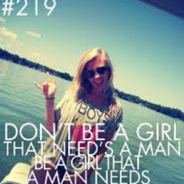 Be that girl<3