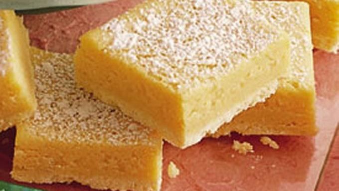 Betty Crocker's Living with Cancer Cookbook shares a recipe! Power-packed with extra protein, these easy-mix lemon bars make a great snack or dessert.