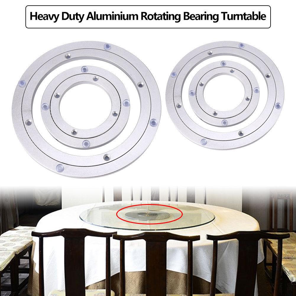 Heavy Duty Aluminium Alloy Rotating Turntable Round Table Bearing